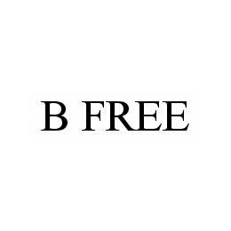 mark for B FREE, trademark #78534774