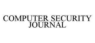 mark for COMPUTER SECURITY JOURNAL, trademark #78535136