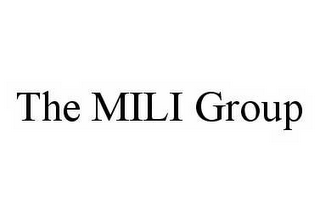 mark for THE MILI GROUP, trademark #78535174