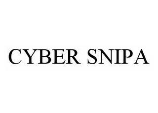 mark for CYBER SNIPA, trademark #78535209