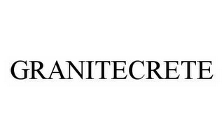 mark for GRANITECRETE, trademark #78535687