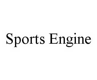 mark for SPORTS ENGINE, trademark #78535878