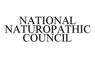 mark for NATIONAL NATUROPATHIC COUNCIL, trademark #78536606