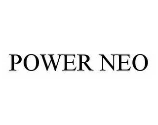 mark for POWER NEO, trademark #78536695