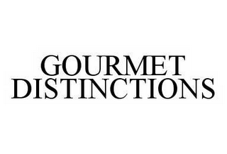 mark for GOURMET DISTINCTIONS, trademark #78536765