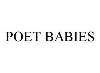 mark for POET BABIES, trademark #78537416