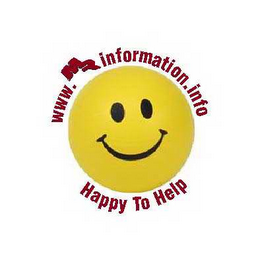 mark for WWW.MRINFORMATION.INFO HAPPY TO HELP, trademark #78537605
