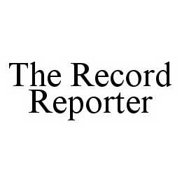 mark for THE RECORD REPORTER, trademark #78537831