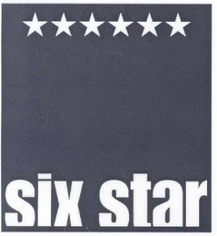 mark for SIX STAR, trademark #78537869