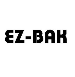 mark for EZ-BAK, trademark #78538597