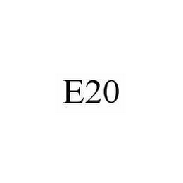 mark for E20, trademark #78539021