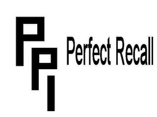 mark for PR PERFECT RECALL, trademark #78539171