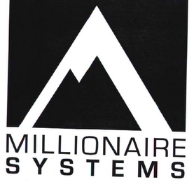 mark for MILLIONAIRE SYSTEMS, trademark #78539624