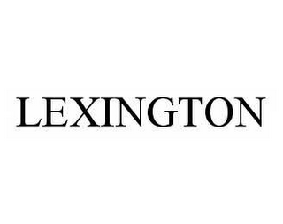 mark for LEXINGTON, trademark #78540154