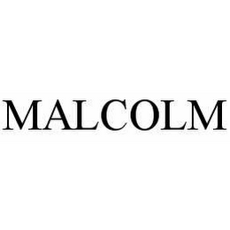 mark for MALCOLM, trademark #78540457