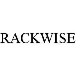 mark for RACKWISE, trademark #78541097