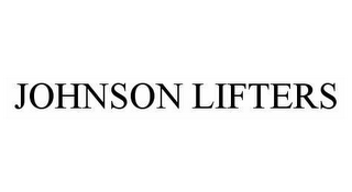 mark for JOHNSON LIFTERS, trademark #78541352