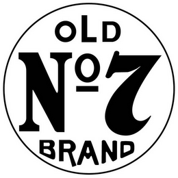 mark for OLD NO 7 BRAND, trademark #78541672
