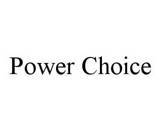 mark for POWER CHOICE, trademark #78541690