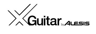 mark for X GUITAR BY ALESIS, trademark #78541739