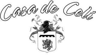 mark for CASA DE CELI, trademark #78541837