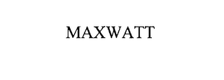 mark for MAXWATT, trademark #78541954