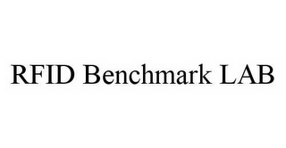 mark for RFID BENCHMARK LAB, trademark #78542130