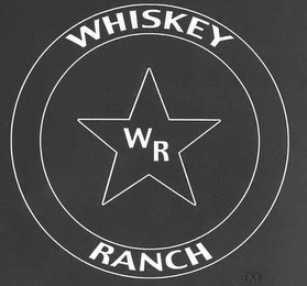 mark for WHISKEY RANCH WR, trademark #78543247