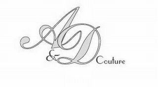 mark for A&D COUTURE, trademark #78543701