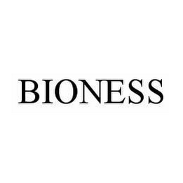 mark for BIONESS, trademark #78544183