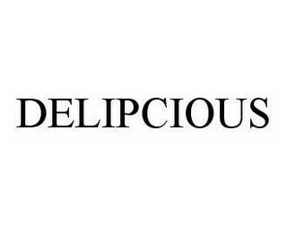 mark for DELIPCIOUS, trademark #78544224