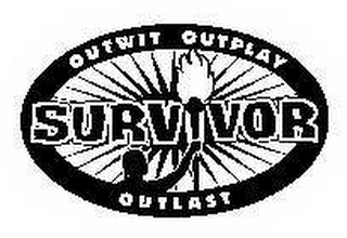 mark for SURVIVOR OUTWIT OUTPLAY OUTLAST, trademark #78544863