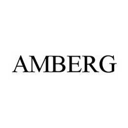 mark for AMBERG, trademark #78544988