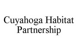 mark for CUYAHOGA HABITAT PARTNERSHIP, trademark #78545002