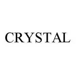 mark for CRYSTAL, trademark #78545748