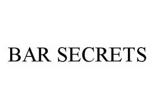mark for BAR SECRETS, trademark #78547107
