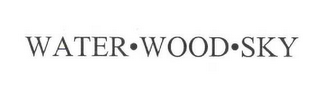 mark for WATER · WOOD · SKY, trademark #78547511