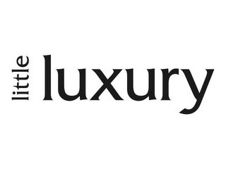 mark for LITTLE LUXURY, trademark #78547513