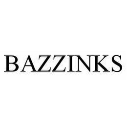 mark for BAZZINKS, trademark #78548057