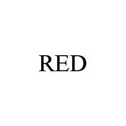 mark for RED, trademark #78548089
