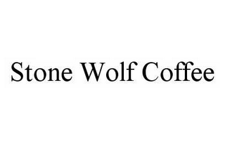 mark for STONE WOLF COFFEE, trademark #78548466