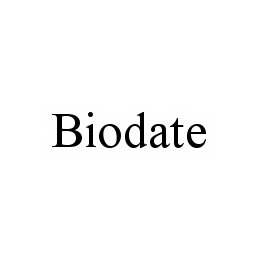 mark for BIODATE, trademark #78548882