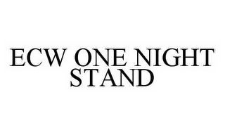 mark for ECW ONE NIGHT STAND, trademark #78549053