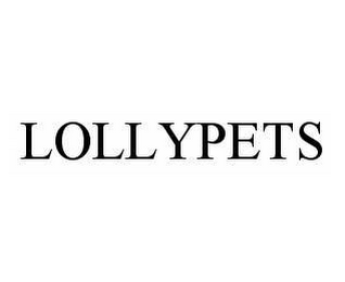 mark for LOLLYPETS, trademark #78549254