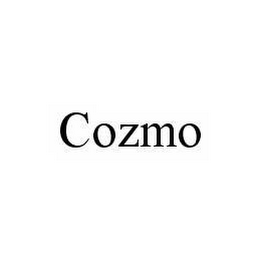 mark for COZMO, trademark #78549576