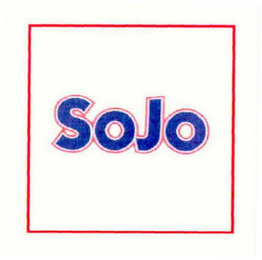 mark for SOJO, trademark #78549734