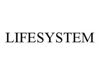 mark for LIFESYSTEM, trademark #78549995