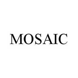 mark for MOSAIC, trademark #78550890