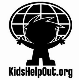 mark for KIDSHELPOUT.ORG, trademark #78551921