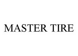 mark for MASTER TIRE, trademark #78552298
